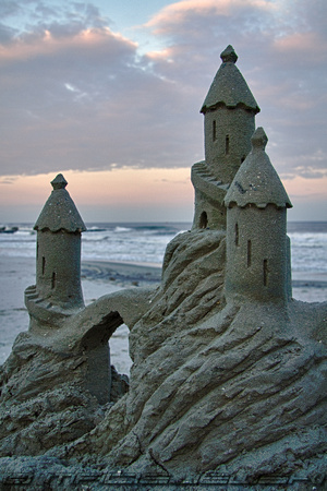 Sandcastle in AC
