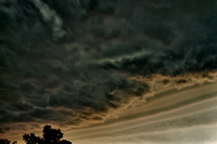 HDR under the gust front